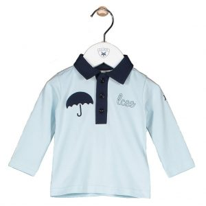 Lcee poloshirt diamond blue