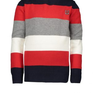 LCEE pull over knit stripes