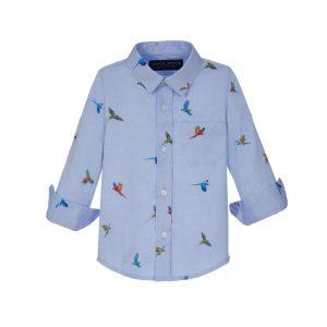 LAPIN HOUSE hemd papegaai