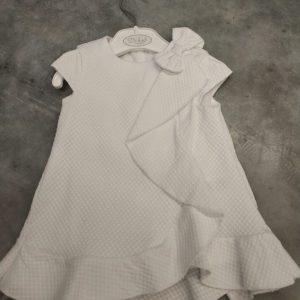 DR KID kleedje blanc pure