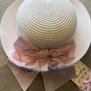 LAPIN HOUSE hoed roze strik