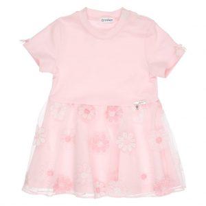 GYMP kleedje roze bloemen