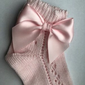 CARLOMAGNO laag model roze strik