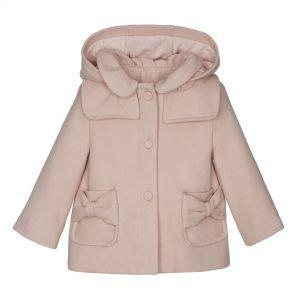 LAPIN HOUSE mantel wol met rits