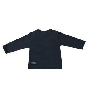 """Le Chic Garcon T-shirt """"un nouveau garçon"""" marineblauw"""
