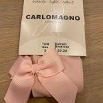 CARLOMAGNO Panty microfiber roze