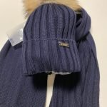 IL TRENINO Sjaal blauw