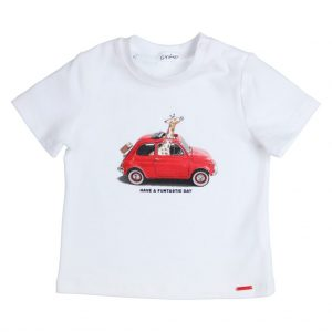GYMP T-shirt FIAT with Giraffe