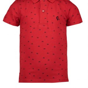 LE CHIC GARCON Polo Scarlet Red