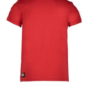 LE CHIC GARCON T Shirt Scarlet Red