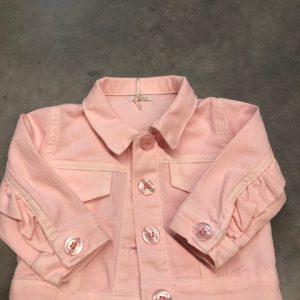 LE BEBE Jeansvestje roze