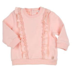 GYMP  Sweater Strass Oudroze