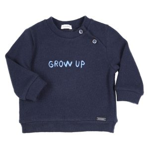 """GYMP Sweater """"Grow up"""" -Navy"""