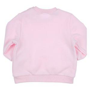 GYMP Sweater Strass Lichtroze