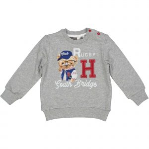 "BIRBA  Sweater ""Rugby Club"" Grijs"