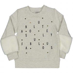 """TRYBEYOND  Sweater """"Fabulous"""" Grijs"""