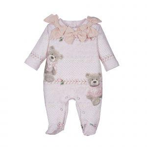 LAPIN HOUSE Babysuit Bear roze