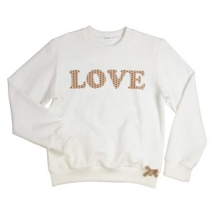 """GYMP Pull """"Love"""" Offwhite"""